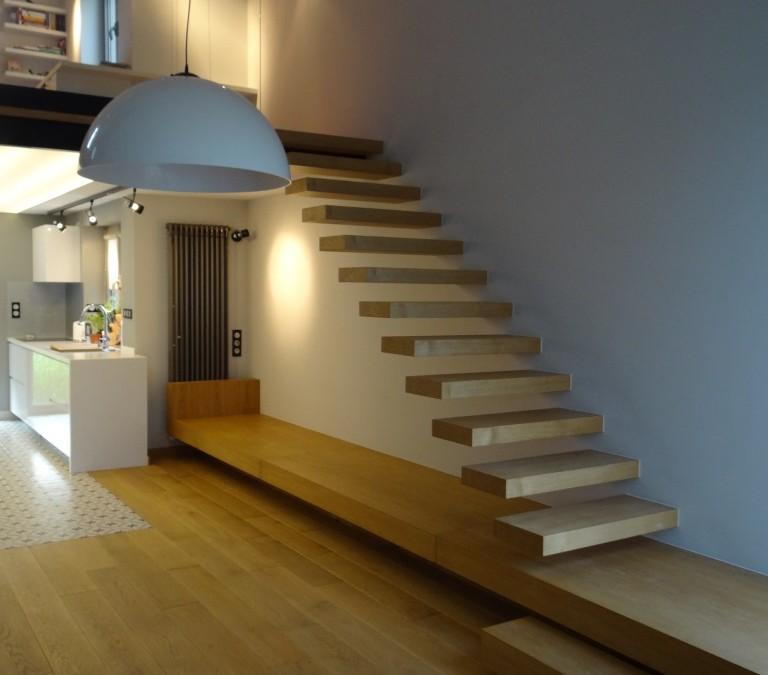 schody – dom Kraków